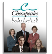 Chesapeake Title Attorneys - MD, PA, DE, VA, WV